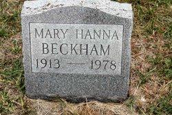 Mary <i>Hanna</i> Beckham
