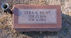 Vera Kathryn <i>Burke</i> Hunt