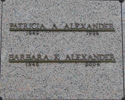 Barbara K Alexander