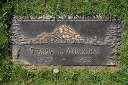 Georgia L Alberthal