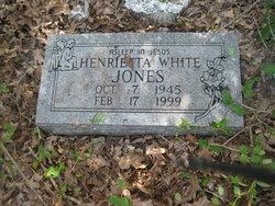 Henrietta <i>White</i> Jones