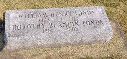 Dorothy <i>Blandin</i> Fonda