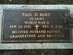 Paul D Burt