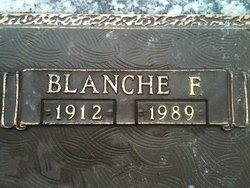 Blanche F Burt