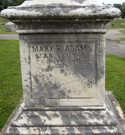 Mary <i>Bachman</i> Adams