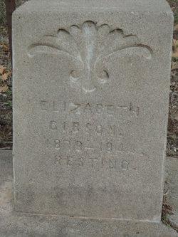 Elizabeth <i>Whitehead</i> Gibson