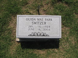 Ouida Mae <i>Park</i> Switzer