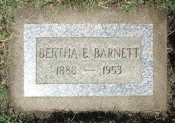 Bertha Elizabeth <i>Marshall</i> Barnett
