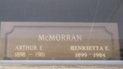 Henrietta Elizabeth <i>Cusick</i> McMorran