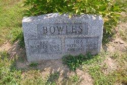 Carrie Lela <i>Gentry</i> Bowles