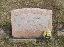 Irene B <i>Brinker</i> Booker