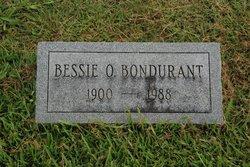 Bessie O Bondurant