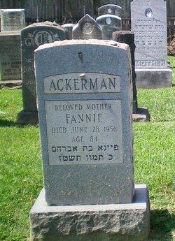 Fannie Ackerman