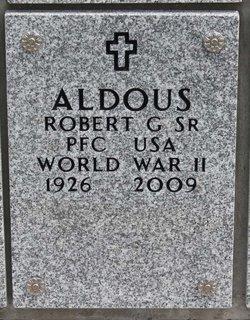 Robert G Aldous, Sr