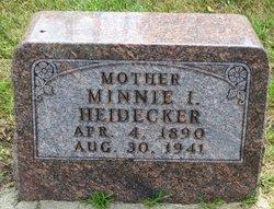 Minnie I. <i>Quincy</i> Heidecker