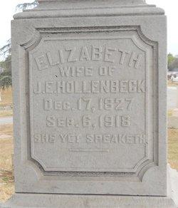 Elizabeth <i>Hatsfeldt</i> Hollenbeck