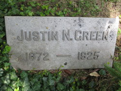 Rev Justin Norman Green