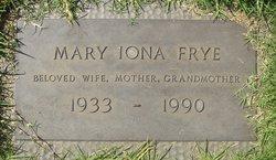 Mary Iona <i>Peterson</i> Frye