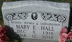 Mary Elizabeth <i>West</i> Hall
