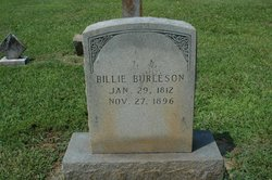 William Billie Burleson