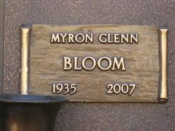 Myron Glenn Bloom