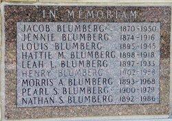 Hattie M Blumberg