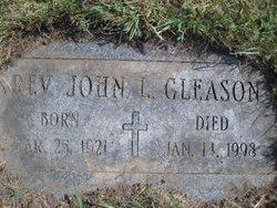 Fr John L. Gleason