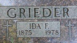 Ida Francsika <i>Zurlinden</i> Grieder