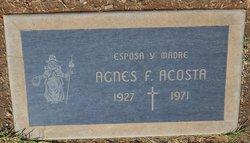 Agnes F Acosta