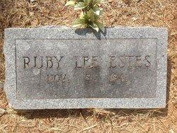Ruby Lee Estes