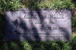 Alexander G Alex Ainslie