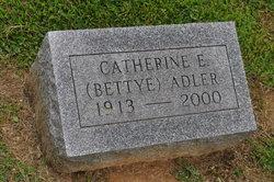 Catherine E Bettye Adler