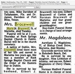 Marie H. <i>Fordham</i> Bracewell