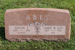 Carrie M <i>Luce</i> Abel