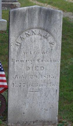Hannah P. <i>Collins</i> Crain