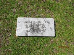 Dr George Manning Barwick