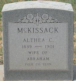 Althea C McKissack