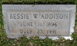 Bessie <i>Walker</i> Addison