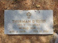 Thurman Drury Estes