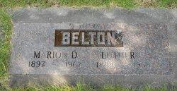 Marion Doris <i>Buzzell</i> Belton