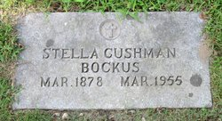 Stella M <i>Cushman</i> Bockus