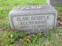 Elsie <i>Geigele</i> Allspaugh