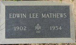 Edwin Lee Mathews, Sr
