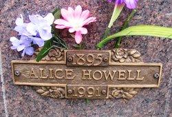 Alice <i>Huntley</i> Howell