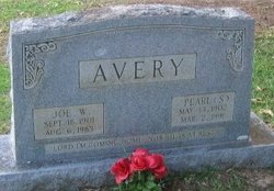 Pearl Mae <i>Stanley</i> Avery