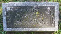 Mary Jane <i>Eddy</i> Chrisman