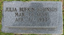Julia Ann <i>Bufkin</i> Robinson