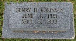 Henry Harrison Robinson