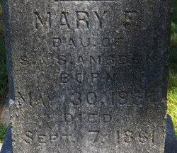 Mary Frances Amsden