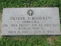Corp Oliver J Bohlken